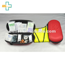 CE/FDA 47Pcs first aid kit box case for auto emergency