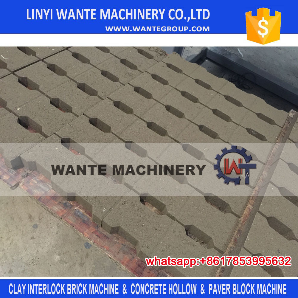 WANTE BRAND QT10-15 Brick Production Line Processing and Concrete Raw Material block making machine