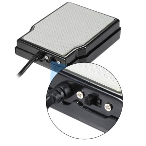 Universal Electronic Piano Keyboard Sustain Pedal Damper Foot Switch with 1/4 Inch 6.35mm Plug