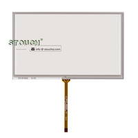 7 inch resistive touch screen 4 wire for GPS CAR DVD touch screen digitizer