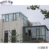 Commercial glass houses lowes sunrooms/Shanghai factory Portable Aluminum sunroom and aluminum sunroom