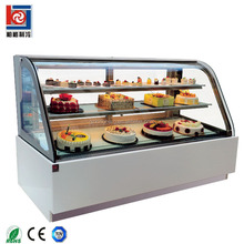 1.2/1.5/1.8m Chocolate Mousse Cake Refrigerated Cabinet Display/cake Display Case Freezer/cake Cabinet Counter Chiller