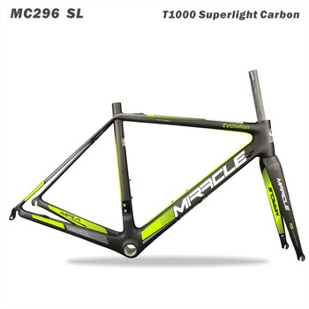 2016 oem t1000 racing bike carbon road frame with miracle painting 51/55/58cm