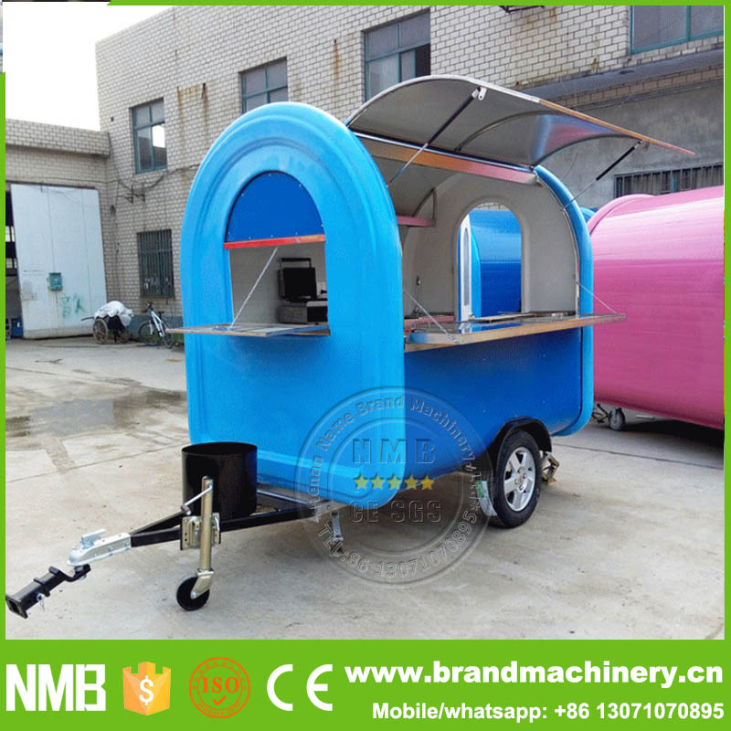 Wholesale price remorque food truck van trailer - Remorque cuisine mobile ...