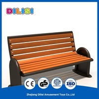 Factory Price park benches Composite Wooden Leisure Garden Park Bench