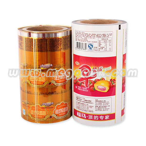Multilayer Food Packaging Roll Film Stock For Auto Packing Machine