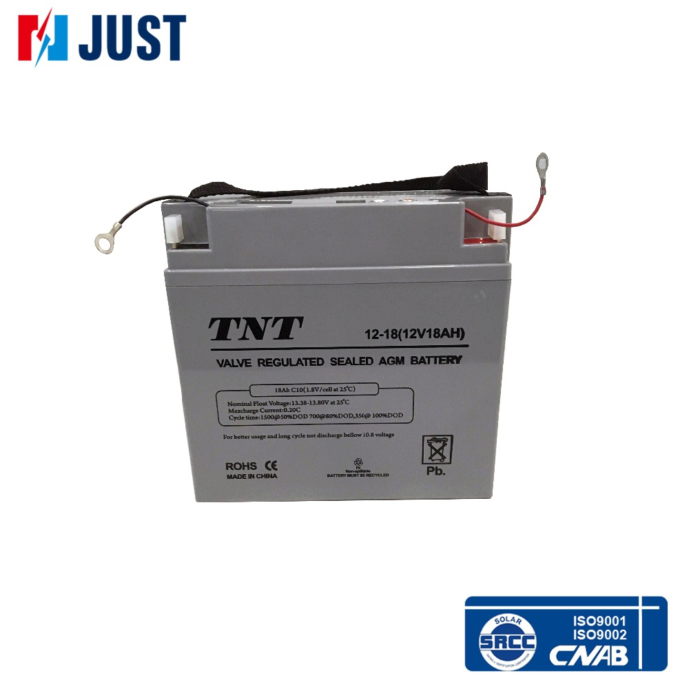 Great 12v 18a solar deep cycle battery for home