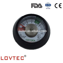 UL listed 1.25'' 1.5'' 3000PSI medical oxygen pressure gauge for cylinder regulator Chinese medical equipment manufacturer