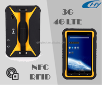 Waterproof 7 inch android wireless 3G/4G LTE RFID tablet PC