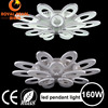 Contemporary petal charm Acrylic LED Ceiling Pendant Light 160W Home decoration lamp pendant lighting