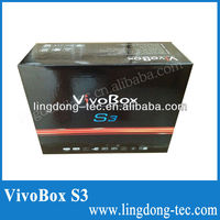 vivobox s3 twin tuner sks Nagra 3 Decodificador full hd satellite receptor fta receiver stable than azbox bravissimo hd