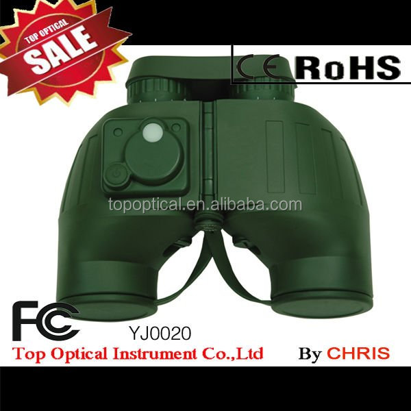 7X50 military army green directional compass telescope