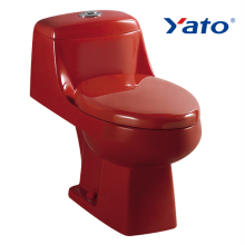 Washdown basin toilet sink wc alibaba china gold suppliers red color ceramic toilet YA-2000Red YATO
