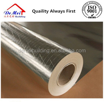 Thermal insulation metallized film scrim kraft/Double side aluminum foil scrim kraft paper/