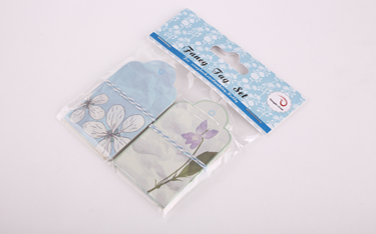wholesale alibaba craft gift tag hang paper punch tag with string kit