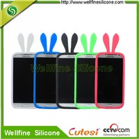 Protective elastic silicone mobile phone back cover