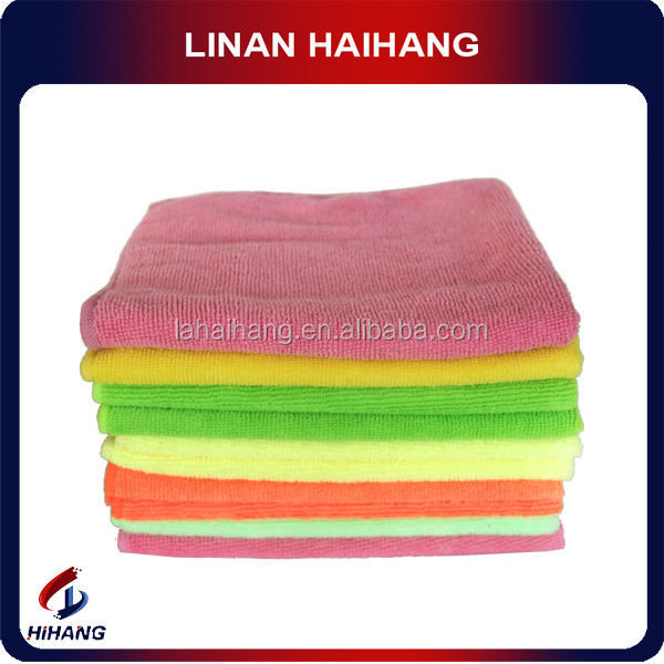 China high quality 280GSM super microfiber towel car cleaning