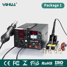 YIHUA853D 1A repair mobile phone board power supply bga rework station