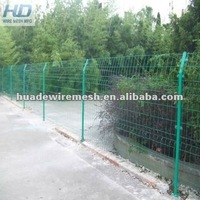 pvc coated wire mesh fence, garden fence,welded mesh panel