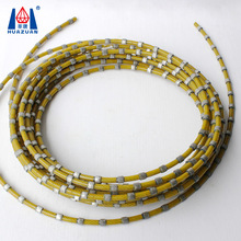 High performance diamond wire saw for marble