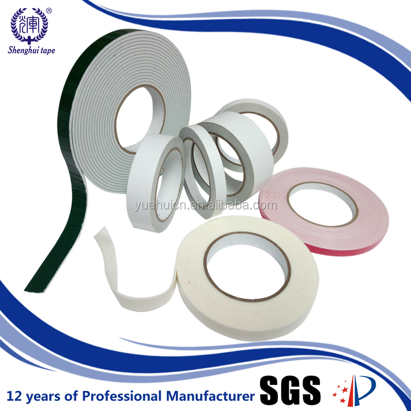 China OEM manufacturer 50m rubber glue sticky double sided gum tape