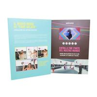 in short supply 4.3 inch wholesale customized video greeting card hd screen video card