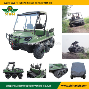 XBH 6x6-1 Economic All Terrain vehicle anfibio 6 wheels 600cc Gasoline amphibious vehicle ATV