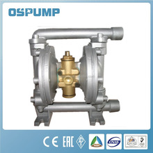 QBY aluminium air operated double diaphragm pump