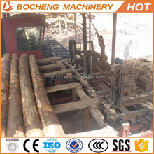 Portable / Stationary Circular Wood Sawmill With Carriage