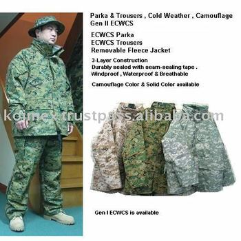 ECWCS Parka and Trousers