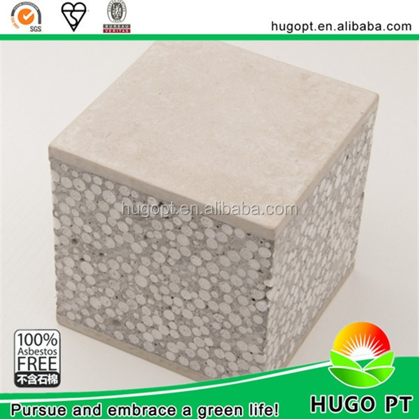 Light Weight Building Material Eps Cement Sandwich Board Used For Partition Wall