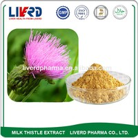 UV80% Solvent Extraction Silybum Marianum with Organic Plant Seed