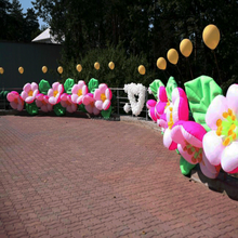 2017 hot selling daisy chain wedding inflatable flower,flower inflatable for sale