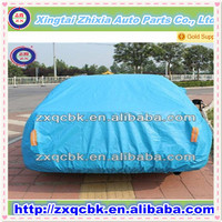 waterproof car cover made in China/Silver coated polyester sun-proof rain-proof car cover