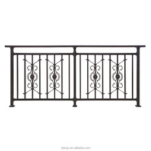 Competitive price good design galvanized steel pipe balcony railing