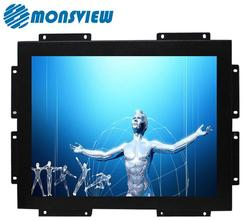15 inch Industrial Open Frame Capacitive 10 points Touch Screen Monitor