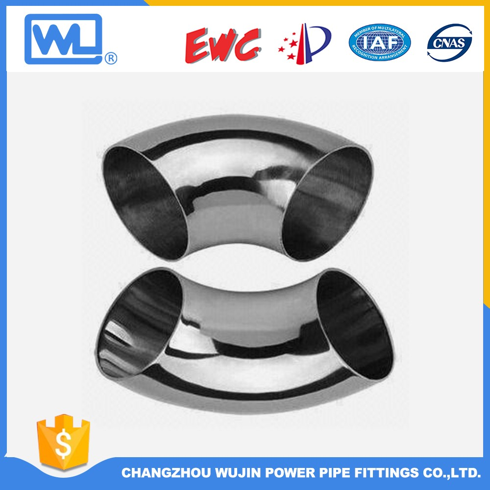 Black Painting 22.5 Degree Pipe Fitting Elbow