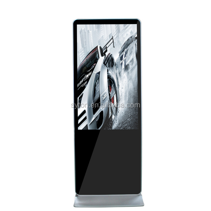 32 inch floor standing tv lcd display advertising monitor