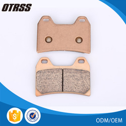 For the off road motorcycle rider in different conditions copper disc sintered brake pad