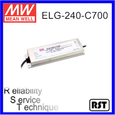 ELG-240-C700 Constant Current Mode LED Driver Taiwan Mean Well Meanwell 240W 700mA Power Supply