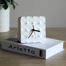 Decorative Unique White Desk Clock Table Decoration