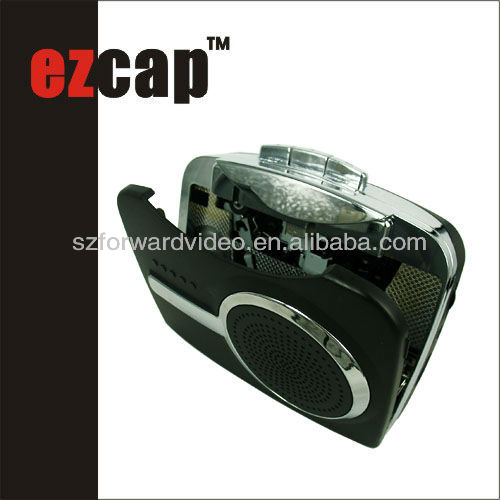 USB cassette player,USB audio capture,audio cassette recorder-ezcap228