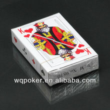 GOLD PLATED playng card 100% NEW PLASTIC card guard to poker