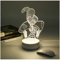 creative 3D cartoon LED night light