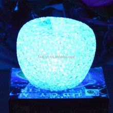 christmas party decoration gift for kids colorful flashing led eva apple