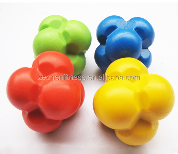 Sports Training Agility Reaction Ball Rubber Reacting ball Elastic ball