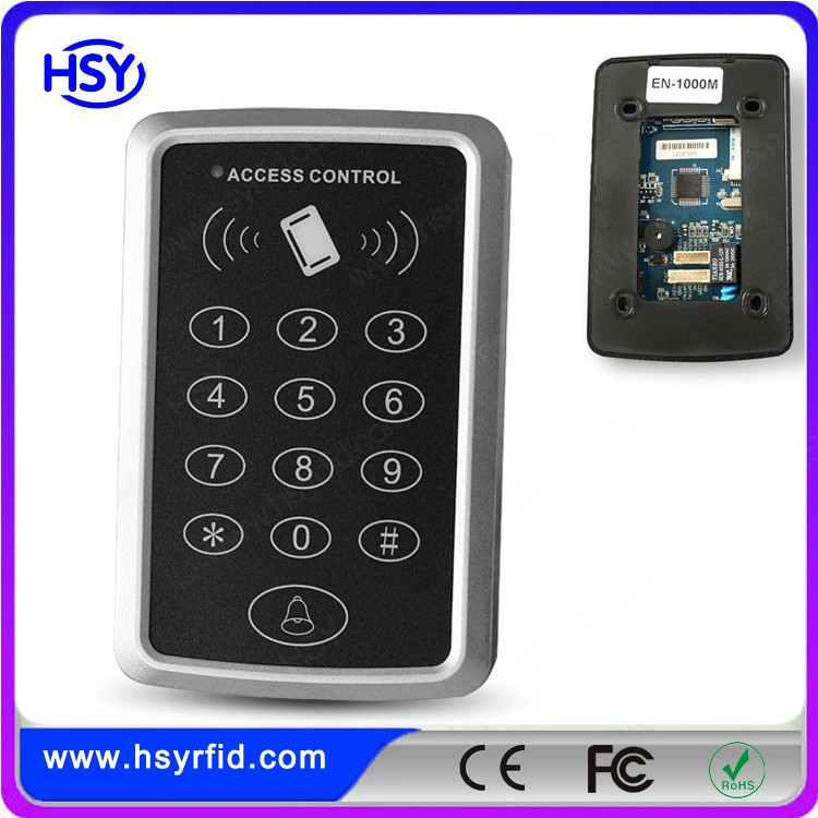 125khz Plastic Keypad RFID Card Door Access Control with competitive price