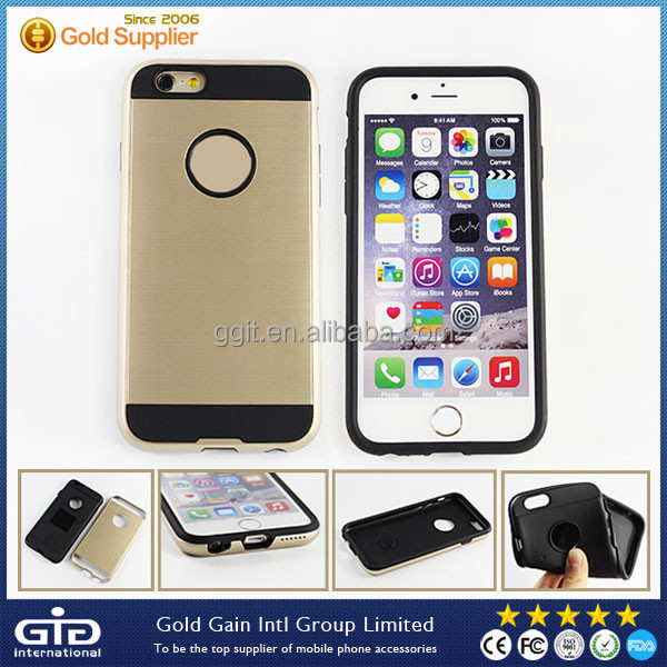 [GGIT] Hard Case for iPhone 6, Slim Case for iPhone 6, 2 in 1 Slim Case