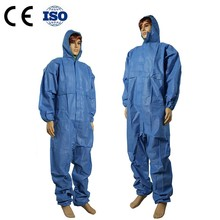 Hospital Disposable Protective Non-woven Coverall Clothing
