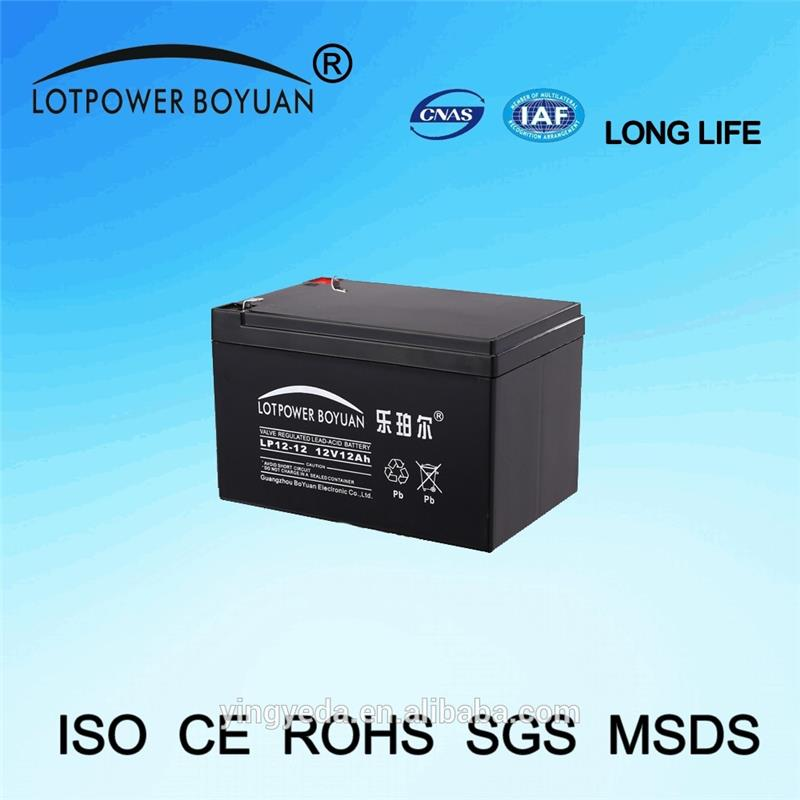 agm lead acid 12v 12ah battery with high performance for storage power from top 10 battery manufacturers